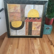 $750 Abstract painting by Jan Aniserowicz