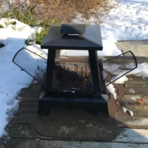 Char Broil outdoor fireplace