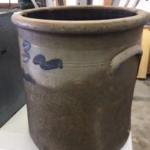 Antique 3 gallon crock