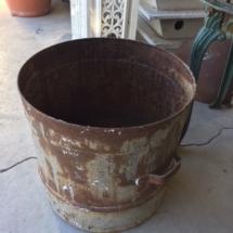 Vintage metal strainer