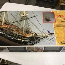 "Rare! Mamoli USS Constitution ""Old Ironsides"" model ship kit still in box, unassembled"