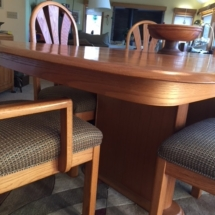 Giguere and Morin inc dining set. Made in Canada