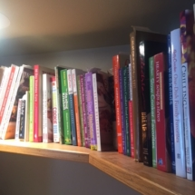 Nice collection of cookbooks - both vintage and current
