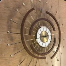 Eldon Midcentury wall clock