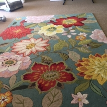 Hand hooked rug by Nourison. 8'x10.5'