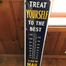 Vintage sign/thermometer
