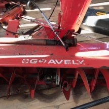 Gravely tractor attachment
