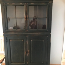 Beautiful painted china cabinet