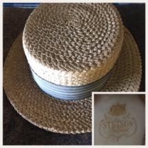 Vintage Stetson straw hat. Mint