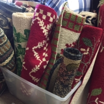 Handhooked rugs