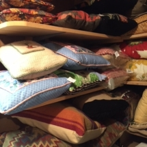 So many pillows - many handmade