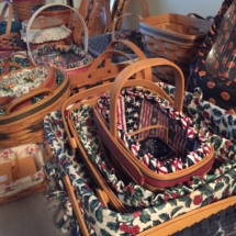 Dozens of Longaberger Baskets