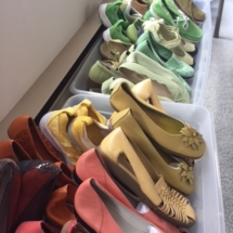 A rainbow of nice quality, name brand shoes!