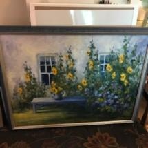 Original oil painting by J. Miller