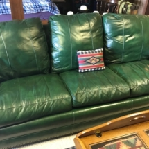 Hancock & Moore leather sofa