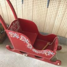 Handmade sled