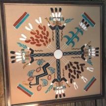 Navaho sand art