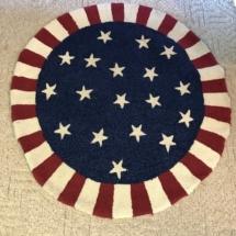 Handhooked rug