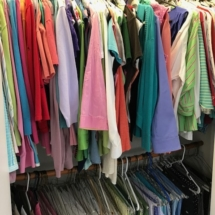 Closets loaded full of XL clothing Talbots, J. Jill, LL Bean and many other nice brand names