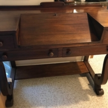 Mahogany antique desk
