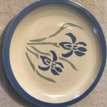 Large stoneware plate