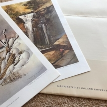 Roland Roycraft signed prints
