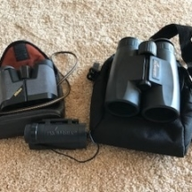 Promaster and Nikon binoculars