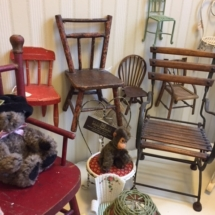 Miniature chair collection