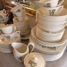 Marcrest Gay Nineties dinnerware