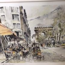 Parisian Street - Herbelot