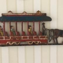 Antique iron piece