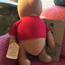 1940's Pooh Bear made by Agnes Brush