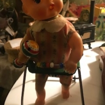 1950's Cragston mechanical doll. Works!