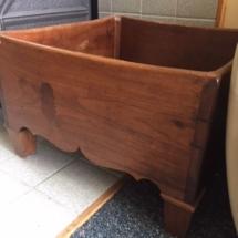 Super cool antique wood box