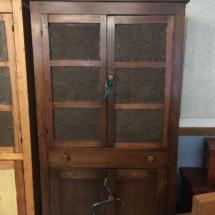 Antique pine pie safe