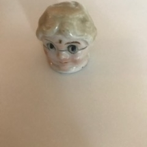 Miniature porcelain head