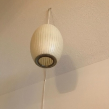 Vintage George Nelson by Herman Miller pendant light