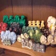 """See no evil, hear no evil, speak no evil"" figurine collection"