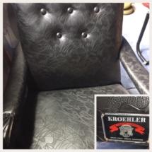 Rare midcentury Kroehler chair