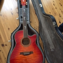 Ibanez AEF100E electric acoustic guitar