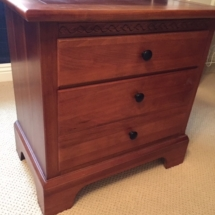 Nice set of cherry nightstands