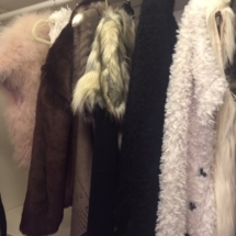 Cozy faux fur coats and vests