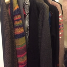 Tons of beautiful sweaters