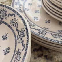 "Laura Ashley ""Petite Fleur"" dishware"