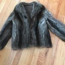 $200 Raccoon fur coat