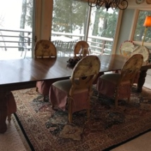 $400 all 8 French Provincial Chairs