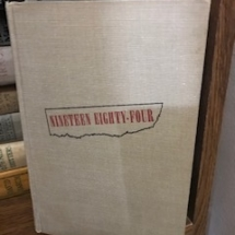 Nineteen Eighty-Four, first edition!