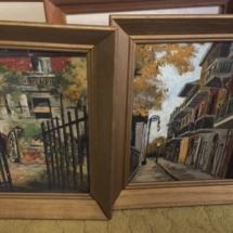 Original New Orleans oil paintings