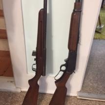 Marlin 22 long rifle and Marlin 30-30