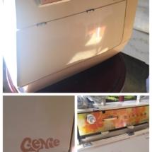 "Vintage Singer ""Genie"" sewing machine"
